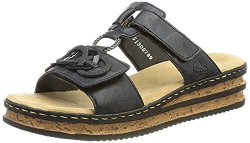 Rieker Damen 62936 Sandale, Blau, 39 EU