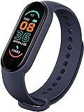 Smart Band M6 - Pulsera de Actividad Inteligente Reloj Inteligente Deportivo para Hombre Mujer Niños Niñas IP67 Smartwatch Monitor de Sueño Podómetro SMS Llamadas iPhone Huawei Xiaomi Android Samsung