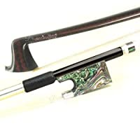 Master Carbon Fiber 4/4 Violin Bow with Abalone Frog-D Z Strad Full Size