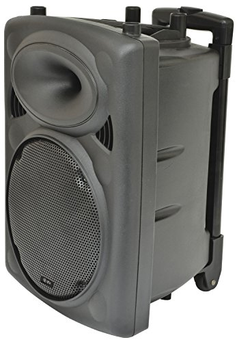 QTX | Rechargeable Battery 10' Portable PA Speaker System 300W | Complete...