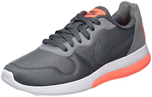 Nike Herren Md Runner 2 Lw Laufschuhe, Grau (Dark Grey/Cool Grey/Hyper Orange), 42 EU