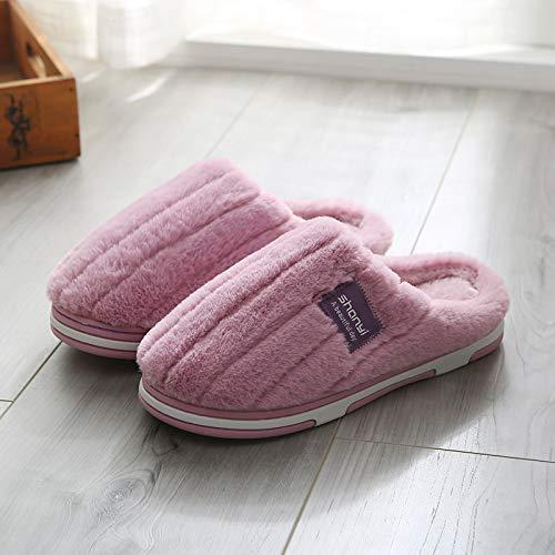 Zapatillas De Casa para Mujer,Invierno Zapatillas De Algodó