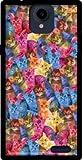 Mobilinnov Archos 55 Platinum Haribo Chat en Folie Silikon Hülle Handyhülle Schutzhülle - Zubehor Etui Smartphone Archos 55 Platinum Accessoires