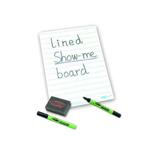 SG onderwijs EP C/LIB show-me droog afwisbaar uni/gevoerd board met stift en gum, A4-formaat (35 stuks)