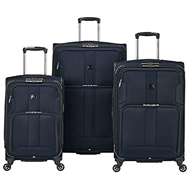 Delsey Sky Max 3-Piece Nested Set (Blue)