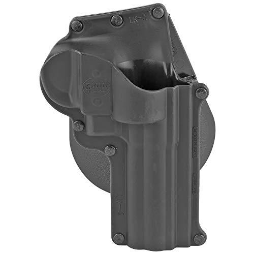 Fobus SW4 Standard Holster für Smith & Wesson K&L Frame Revolver, Taurus 431, 65, 66, Rechtshänder-Paddel