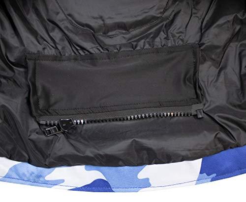 Herren Motorrad Textil Jacke Motorradjacke Winddicht Wasserdicht Belüftet Camo Camouflage (4XL) - 7