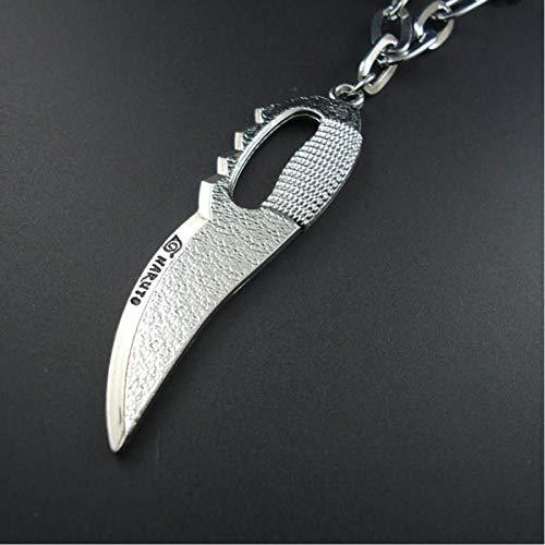 VFDGB Neue Handgemachte Lange Seil Vintage Schweizer Taschenmesser Charm Anhänger Herren Halsketten Schmuck Für Männer Und Frauen