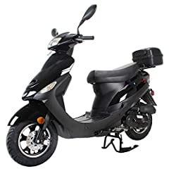 Come with Aluminum Wheels which are more lighter and stronger than steel wheels. Come with Fully Automatic transmission ensures easy, twist-the-throttle-and-go operation. Front Disc brake and Rear Drum brake supply strong, reliable stopping power. 10...