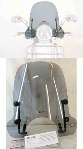 CUPOLINO FUMÈ chiaro PIAGGIO VESPA GTS 125/250/300ie cod. 28201