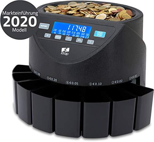 ZZap CS20+ - Contador automático de monedas europeo
