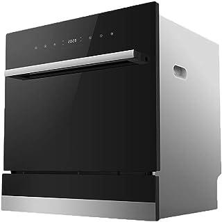 Smart dishwasher XGG Lavavajillas Empotrado, Mini Lavavajillas, Interior De Acero Inoxidable, Oficina De Apartamentos PequeñOs Y Cocina En Casa, Estante De 8 Posiciones Y Canasta De Cubiertos