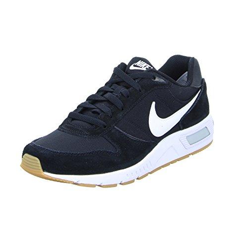Nike Nightgazer 644402-006, Zapatillas Hombre, Negro (Black/White 006), 44.5 EU