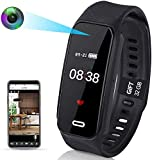 Watch Hidden Camera - WiFi Spy Camera - Body Camera 1080p HD Wearable Mini Spy Camera with 32GB Memory for Business Conference, Investigation and Security