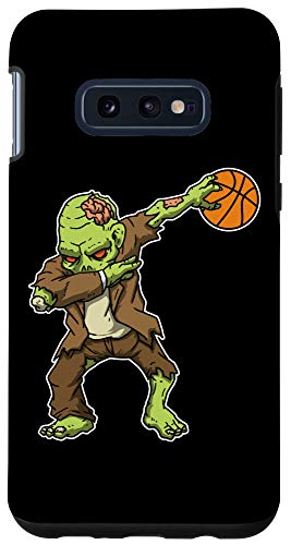 Galaxy S10e Dabbing Zombie Basketball Funny Halloween Costume Case