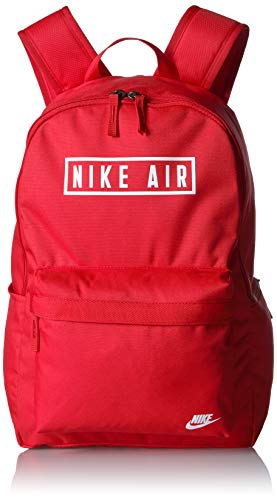 NIKE Heritage Backpack 2.0 Air Gfx, University Red/University Red, Misc