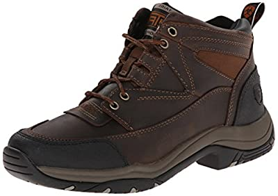 Ariat Men's Terrain Hiking Boot, Distressed Brown, 7 M US