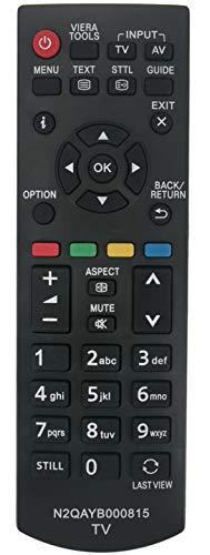 ALLIMITY N2QAYB000815 Control Remoto reemplazado por Panasonic LCD LED TV TX-L32B6E TX-L32EM6Y TX-L39B6ES TX-L32XM6B TX-L42B6ES TX-L32EM6E TX-L39B6E TX-L39EM6E TX-L32XM6E TX-L50EM6E TX-P42X60E