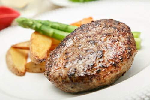 出産 結婚の内祝い(お祝い返し) に 【特選ギフト】 香味野菜 と 牛肉 の ハンバーグ SK(軽)