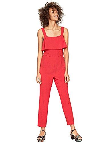 Pepe Jeans Damen Caroli Jumpsuit, Rot (Mars Red), Medium