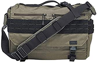 5.11 Rush Delivery Lima Tactical Messenger Bag, Medium, Style 56177, OD Trail