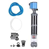 水槽フィルター魚糞尿収集フィルターポンプ水槽用ホーム&ガーデン(110V, U.S. standard)