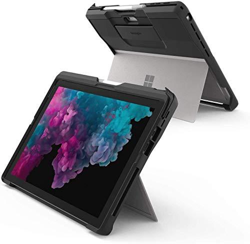 Kensington BlackBelt robustes Case für Surface Go, Robuster Fallschutz nach Militärstandard - Integrierte Handschlaufe mit komfortabler Einfassung zum Schreiben und Zeichnen, K97454EU