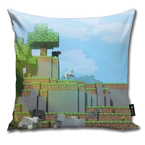 Pants Hats Mi-Necraft 21 Pattern Pillow-Home Decor Pillow Cover Bedroom Decorative Cushion Case For Living Sofas Square Pillow