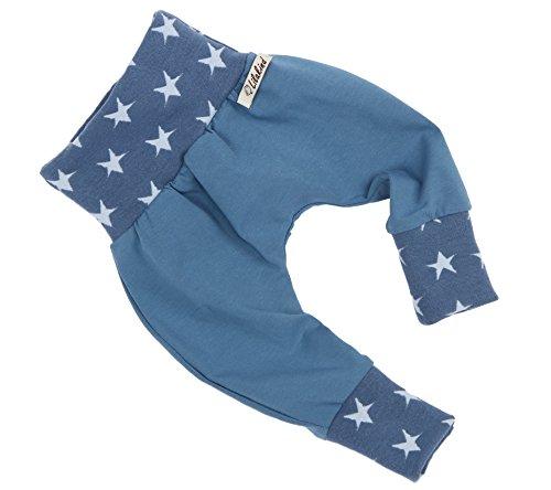 Annsfashion - Pantalon - Bébé (Fille) 0 à 24 Mois - Bleu - 86/92 cm