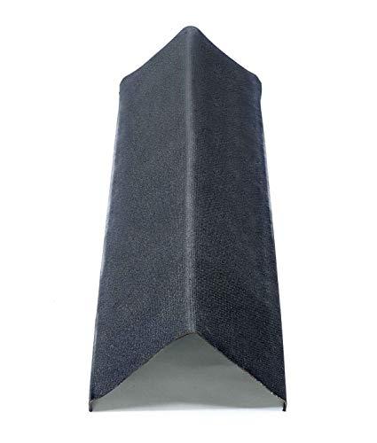 Firsthaube Ortgang Dachabschluß Onduline Bitumenwellplatten Abschlußprofil - schwarz