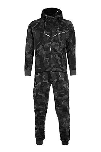 Kinderen Leger Jongens Camouflage Ontwerp Camo MeisjesTracksuit Hoodie Rits Joggers 2 Stuk Ontwerper pak