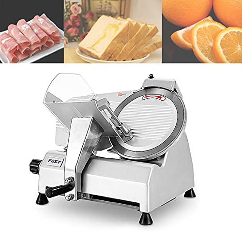Cortafiambres Eléctrico, Cortadora De Carne Para El Negocio O El Hogar, Ajuste De Grosor De 0 a 17 Mm, Para Carne, Queso, Pan, Verduras5