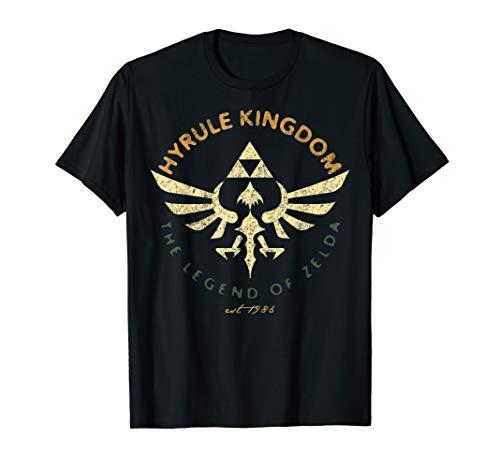 Nintendo Legend Of Zelda Hyrule Kingdom Tri Force Poster T-Shirt