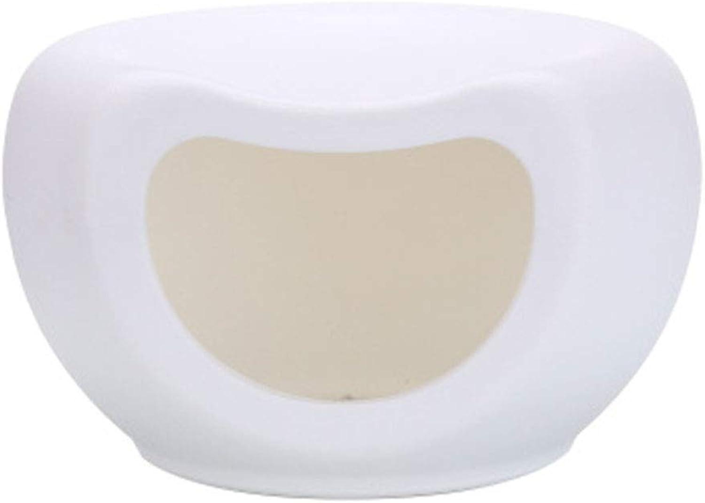 AXIANQI Cat Litter Small Dog Teddy Nest Commercio all'ingrosso di plastica Cage Quattro stagioni Yurt A (colore:bianco)