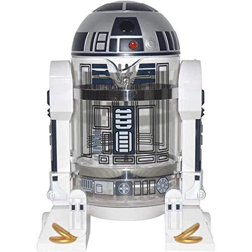 Fikujap Startseite Handschlags Kaffeemaschine Star Wars R2-D2 Presse Percolator Kaffeekanne Mini Kaffeekanne Isolierung
