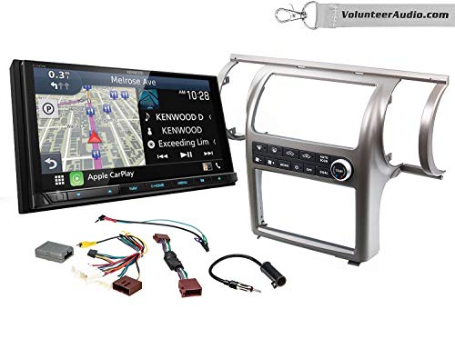 Why Choose Kenwood Excelon DNX996XR Double Din Radio Install Kit With Apple CarPlay, Android Auto, S...