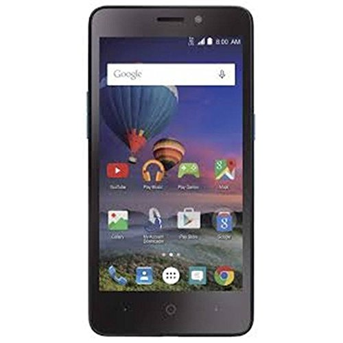 Price comparison product image ZTE Midnight Pro 4 LTE Black SIMPLE MOBILE with 8GB Memory Prepaid Cell Phone Smartphone