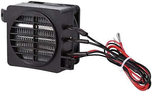 100W 12V Ahorro de energía PTC Ahorro de energía Pequeño espacio Ventilador del automóvil Calentador de aire Temperatura constante Calentadores de elemento calefactor para automóvil Incubadora de cale