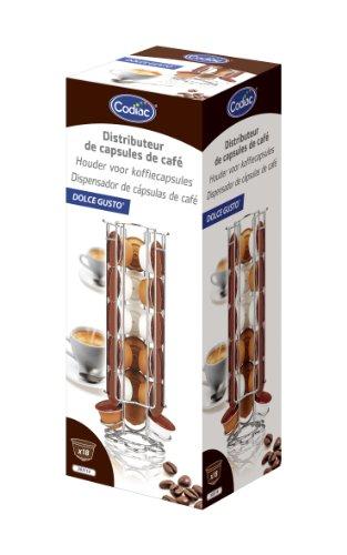Codiac 303110 Dolce Gusto Distributeur de Capsules pour Machine à Café