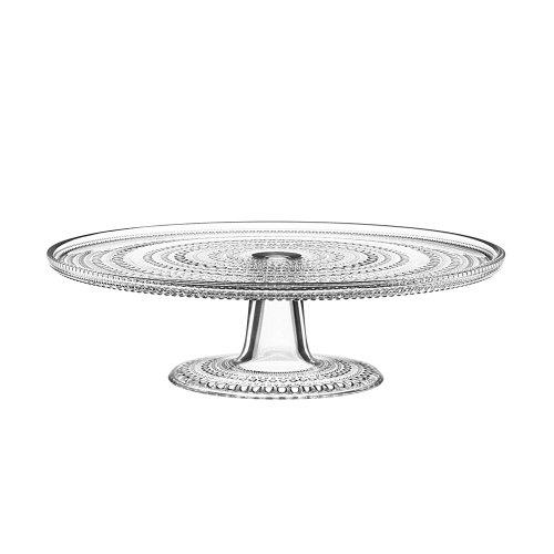 Kastehelmi à gâteau avec pied transparent diamètre 31,5 cm, hauteur 9 cm