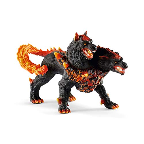 Schleich Eldrador Creatures Hellhound Action Figure Toy for Kids Ages 7-12