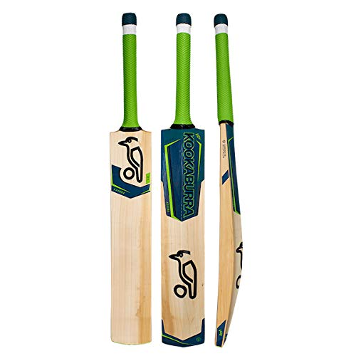 Kookaburra 2019 Kahuna Origin Cricket Bat, Green, Size 4