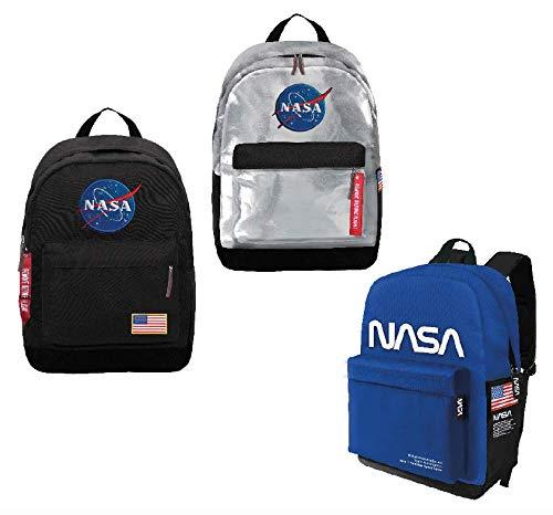 CARTOON WORLD Zaino Americano Free Time - NASA - Nero