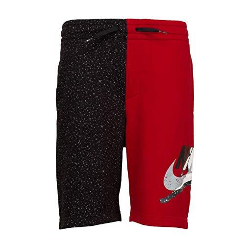 Nike Jordan - Bermudas para niño, Color Rojo y Negro Rojo 15 años