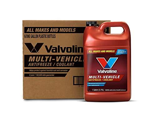 Valvoline Multi-Vehicle Concentrate Antifreeze/Coolant 1 GA, Case of 6