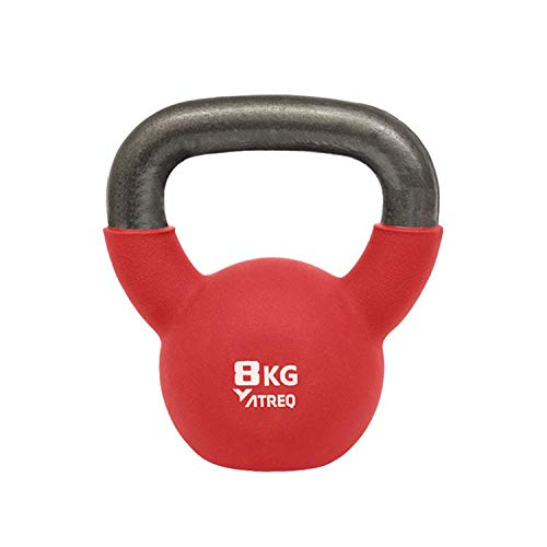 ATREQ Kettlebell Rivestito in Neoprene 8kg