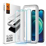 Spigen, 2Pezzi, Vetro Temperato iPhone 12 Mini, AlignMaster, Installazione Semplice con Cornice di...