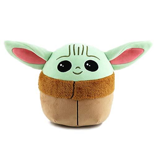 Yoda Peluche bebé Yoda Peluche Juguete Relleno Yoda Pelusa Almohada el niño Lindo Suave muñeca Juguete, el Regalo de la Almohada Infantil, los Mejores Regalos para los fanáticos,L