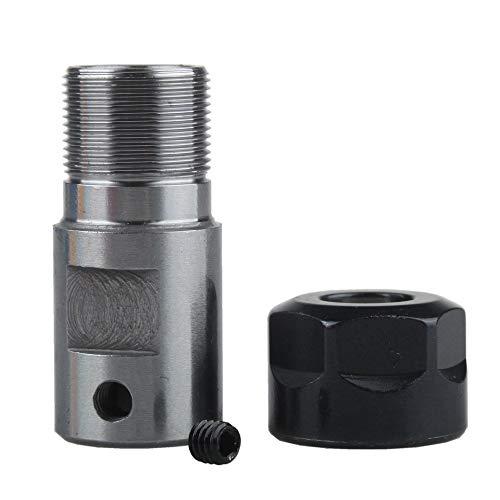 FLY MEN Herramienta Profesional, 8mm 2 Piezas de Collet ER11 un Mandril del Eje del Motor del husillo Varilla de extensión Interior for fresado CNC Industria, cortadora de fresado