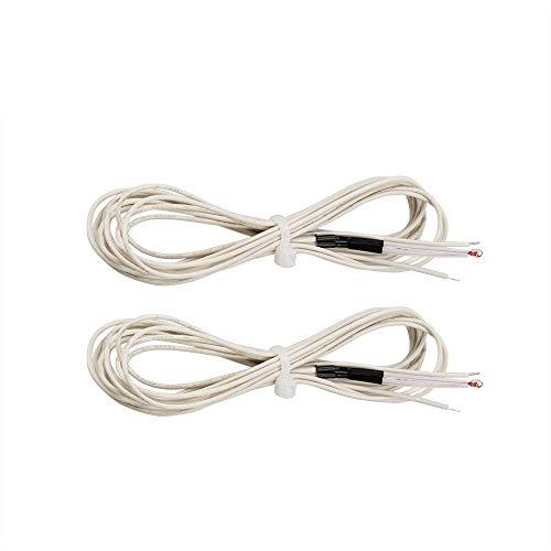 1Pcs 100K Ohm NTC 3950 Thermistoren mit Kabel für 3D-Drucker Reprap Mend 3D-Druckzubehör